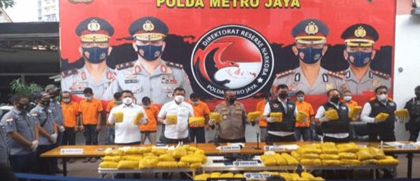 Terkuak! Sabu 201 Kg di Petamburan untuk Danai Jaringan Teroris Timur Tengah