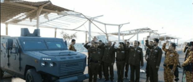 Pertama Kali! Yaman Pamerkan Kendaraan Lapis Baja Buatan Dalam Negeri