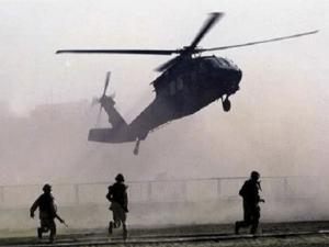 Helikopter AS Jatuh di Kota Kaya Minyak Suriah