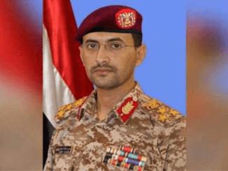 Jenderal Sare'e: Ledakan di Riyadh Bukan Serangan Rudal Yaman
