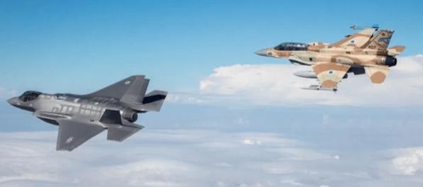 Warga Heboh, Jet Tempur Israel Terbang Rendah di Langit Beirut