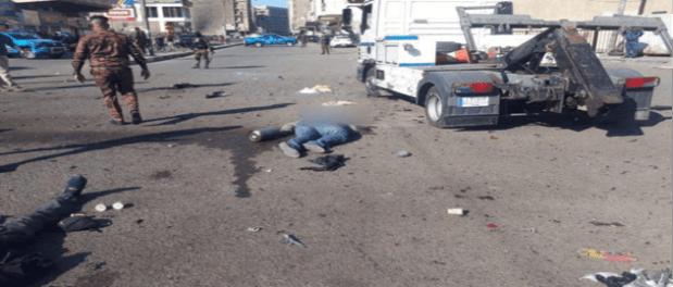 Korban Bom Bunuh Diri Baghdad Meningkat, 28 Tewas