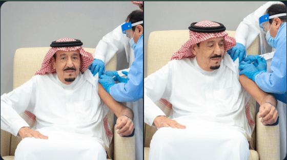 Video: Raja Salman Disuntik Vaksin Corona