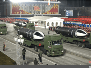 Korea Utara Pamerkan Senjata Paling Kuat di Dunia