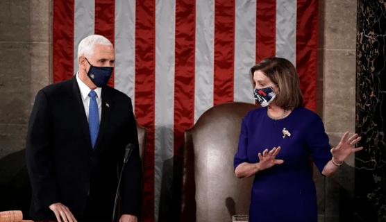 DPR AS Desak Wapres Mike Pence Gulingkan Trump
