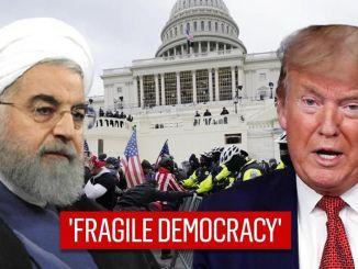 Rouhani: Kerusuhan di Capitol Tunjukkan Rapuhnya Demokrasi Barat
