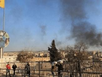 Sesama Militan Pro Turki Baku Tembak di Barat Aleppo