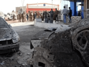Bomber ISIS Keliru Tekan Tombol, Mobil Sarat Bom Meledak