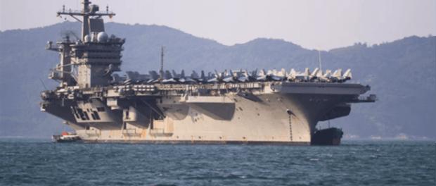 Tarik Kapal Induk dari Terluk, Sinyal Kuat AS Turunkan Ketegangan dengan Iran