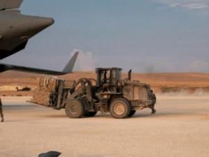 Pesawat Kargo AS Kirim Logistik ke Pangkalan di Suriah