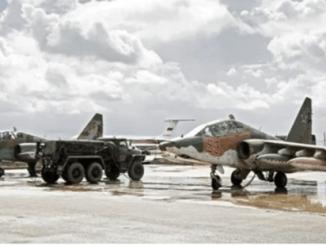 Jet Tempur Rusia Bombardir Benteng ISIS di Gurun Suriah