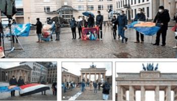 Komunitas Yaman di Jerman Demo Kecam 6 Tahun Agresi Biadab Saudi