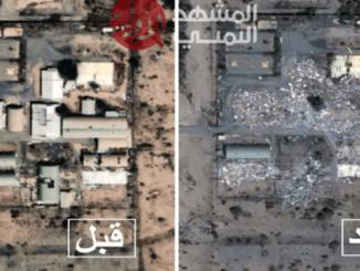 Foto Pangkalan Udara Saudi Hancur Lebur Pasca Dihajar Rudal Yaman