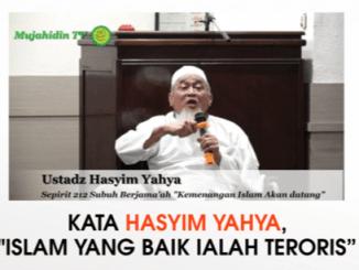 Ustad Hasyim Yahya Sebut Islam yang Baik Adalah yang Jadi Teroris dan Densus 88 Musuh Islam