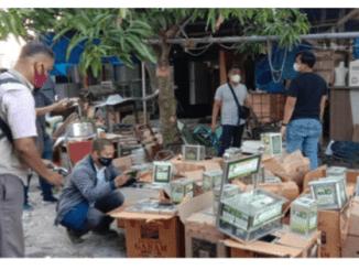 500 Kotak Amal Milik Teroris Diamankan Densus 88