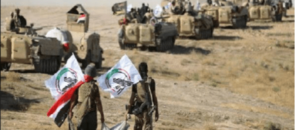 Hashd Al-Shaabi Temukan Gudang Senjata Terbesar ISIS di Anbar
