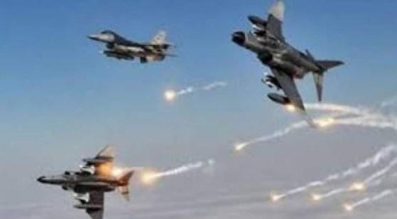 Pesawat Tempur AS-Saudi Luncurkan 20 Serangan di Marib