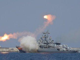 Armada Laut Hitam Rusia Luncurkan Latihan Tempur