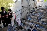 APTOPIX Israel Festival Stampede
