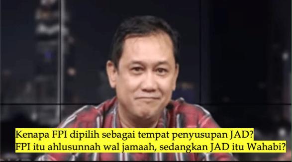 Denny Siregar: Jaringan Teroris JAD Susupi FPI