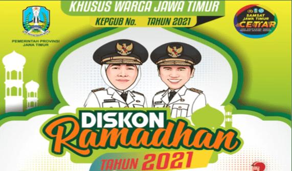 Ramadhan Spesial, Warga Jatim Diberi Diskon Pajak Mobil dan Motor