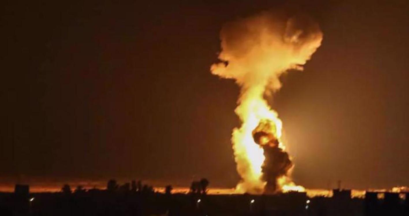 Gaza di Bawah Pengeboman Udara dan Darat Israel