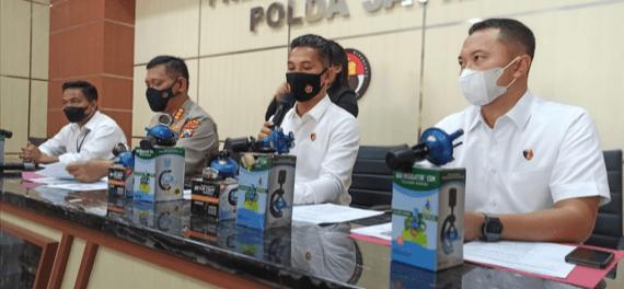 Jauh Dari Standar Aman, Polda Jatim Tangkap Produsen Regulator LPG