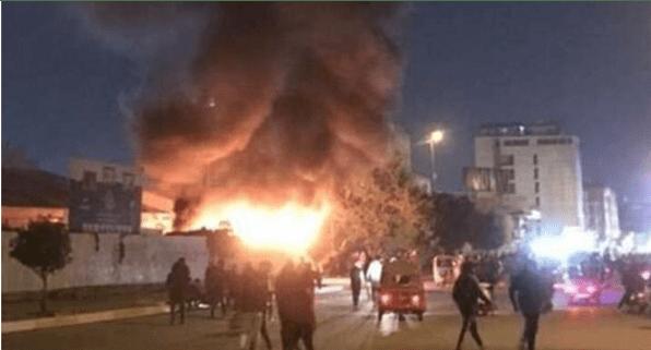 Ledakan Hebat Guncang Area Padat Penduduk di Baghdad