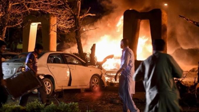 Ledakan Bom di Pakistan Target Dubes China