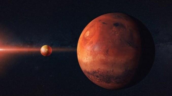 Malam Ini, Planet Mars Akan Tertutupi Bulan