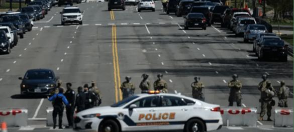 Gedung Capitol Diserang, Tersangka Ditembak Mati