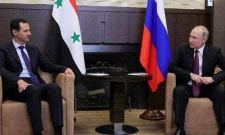 Assad ke Putin: Suriah Dukung Rusia Lawan Eskalasi Barat