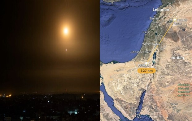 Rudal Suriah Mendarat Dekat Fasilitas Nuklir Israel, Dimona