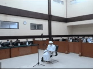 TOK! Majlis Hakim Tolak Eksepsi Habib Rizieq Shihab