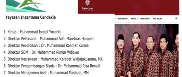 Ada Nama Eks Jubir Ormas Terlarang HTI Jadi Ketua Yayasan Insantama Cendekia