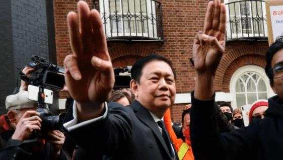 Dubes Myanmar di Inggris Diusir Paksa dari Kedutaan