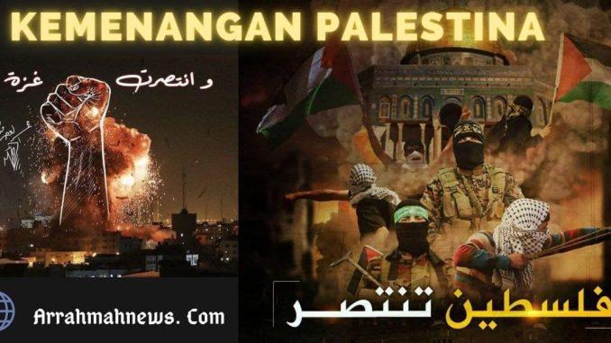 Palestina Rayakan Kemenangan, Israel Berduka atas Kekalahan