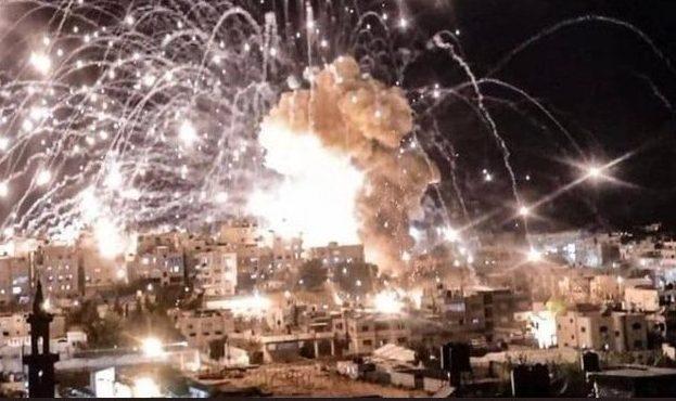 Keji! Israel Gunakan Fosfor Putih dalam Serangan ke Gaza