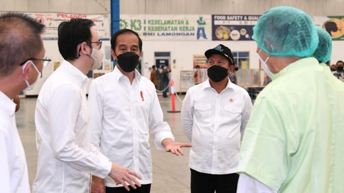 Jokowi: Saya Bangga Jatim Yang Mempunyai Perusahaan Eskpor
