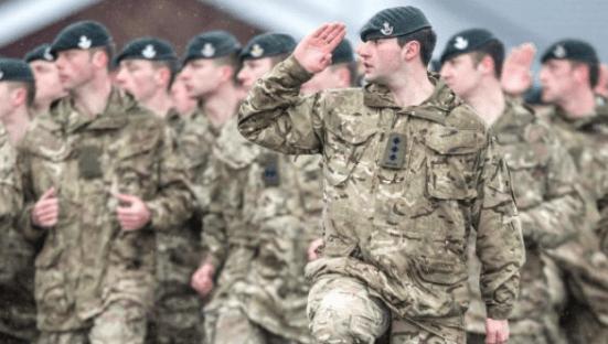 Daily Mail: 10 Ribu Angkatan Bersenjata Inggris Warga Asing