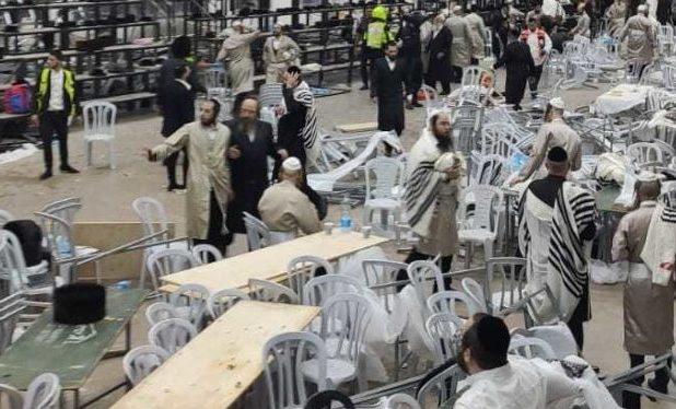 Sebuah Sinagoge Runtuh di Yerusalem, 2 Orang Israel Tewas Ratusan Terluka