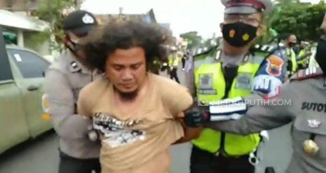Pria Penyerang Petugas di Solo Residivis dan Ancam Bunuh Polisi