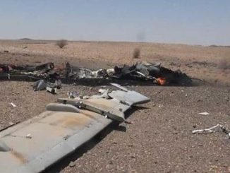 Tentara Yaman Tembak Jatuh Drone Tempur Saudi di Al-Jawf