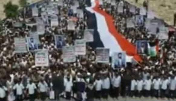 Ribuan Masyarakat Yaman Kembali Gelar Demo Dukung Palestina