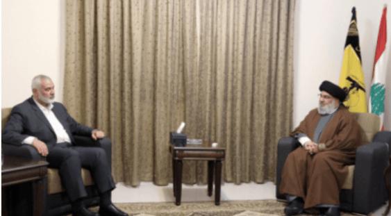 Petinggi Hamas dan Hizbullah Bahas Perang Akhir Lawan Israel