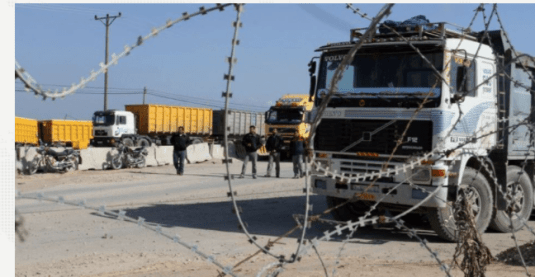 Tutup Jalur Pasokan Bahan Pokok, Cara Israel Bunuh Warga Gaza