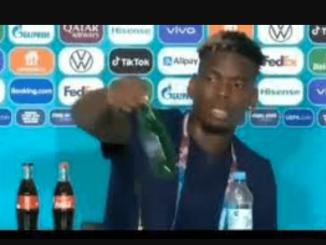 Pasca CR7, Pogba Geser Botol Bir Heineken