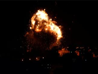 BreakingNews! Jet-jet Tempur Israel Serang Jalur Gaza