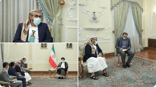 Delegasi Yaman Bertemu Presiden Baru Iran Jelang Pelantikan