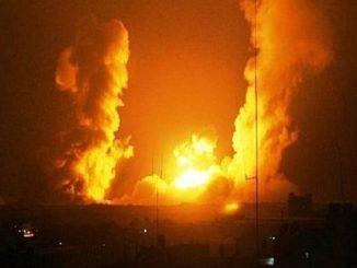 Jet Tempur Israel Serang Jalur Gaza Utara